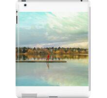 Child At Green Lake iPad Case/Skin