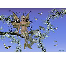 Spring time Fae Photographic Print