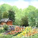 Bethabara Garden by LinFrye