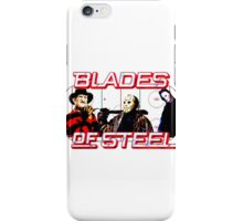 Blades of Steel ... and horror iPhone Case/Skin