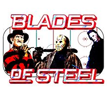 Blades of Steel ... and horror by Rachel Flanagan