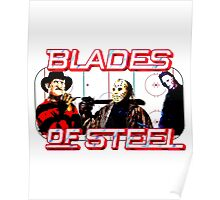 Blades of Steel ... and horror Poster