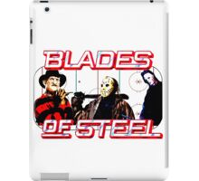 Blades of Steel ... and horror iPad Case/Skin
