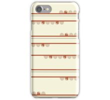 Tribal Huts iPhone Case/Skin