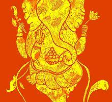 Dancing Ganesh by mishyrowan