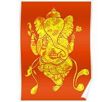 Dancing Ganesh Poster