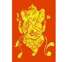 Dancing Ganesh Photographic Print