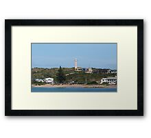 Little Town of Beachport taken from the Jetty. Limestone Cst. S.Aust. Framed Print