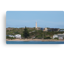 Little Town of Beachport taken from the Jetty. Limestone Cst. S.Aust. Canvas Print