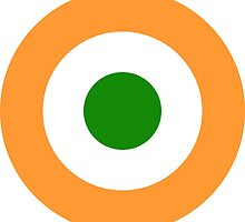 Roundel of the Indian Air Force  by abbeyz71