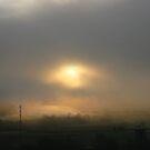 Sunrise through the fog by Rosy Kueng