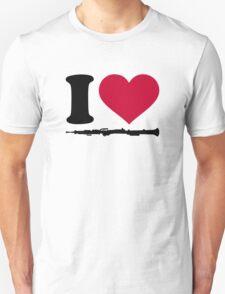 I love Oboe T-Shirt