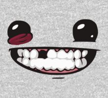 Super Meat Boy One Piece - Long Sleeve