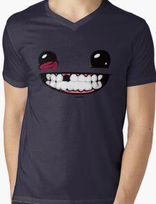 Super Meat Boy Mens V-Neck T-Shirt