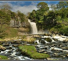 Thornton Force waterfall by Shaun Whiteman
