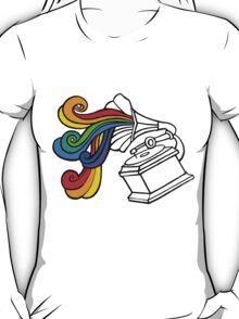 Gramophone Rainbow T-Shirt