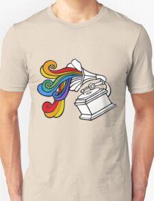 Gramophone Rainbow Unisex T-Shirt