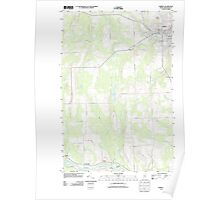 Maine USGS Historical Map Caribou 20110907 TM Poster
