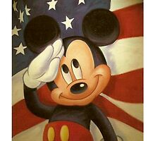Mickey Americana  by Emily2015