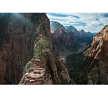 Stairway to Heaven - Zion National Park, Utah Photographic Print