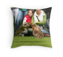Low Flying Bird Throw Pillow