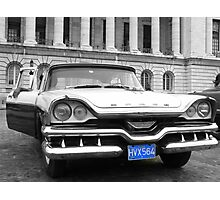 Cuban American car Photographic Print