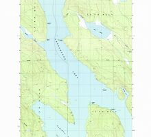 Maine USGS Historical Map Caribou Lake North 105000 1988 24000 by wetdryvac