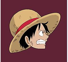 Pissed Luffy Photographic Print