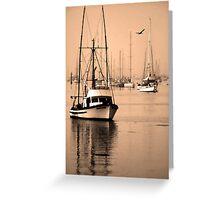 Dawn at Morro Bay Greeting Card