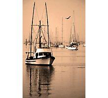 Dawn at Morro Bay Photographic Print