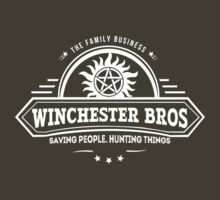 Winchester Bros. Family Business by TumblrVerse