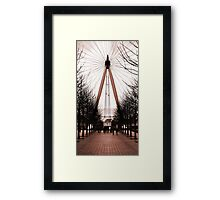 A compass to the Eye... Framed Print