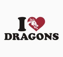 I love dragons by Designzz