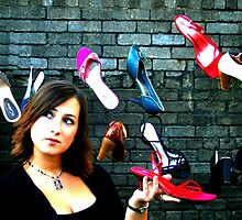 So many shoes, but what's a girl to wear?! by Victoria Kidgell