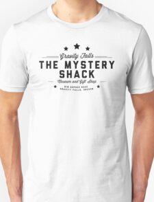The Mystery Shack Black on White T-Shirt