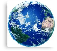 Earth - The Blue Planet Canvas Print