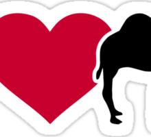 I love Dromedary Sticker