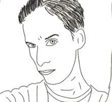 The awesome: Abed Nadir Sticker