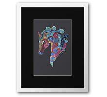 Horse Totem Framed Print