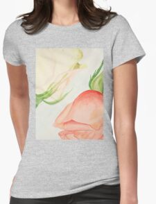 Couple Roses Womens Fitted T-Shirt