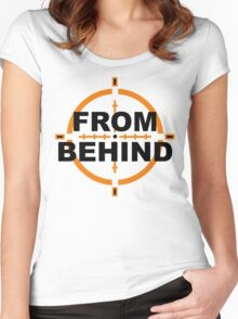 From Behind Women's Fitted Scoop T-Shirt