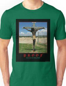Proof tshirt Unisex T-Shirt