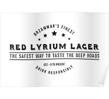 Dragon Age Red Lyrium Lager Poster