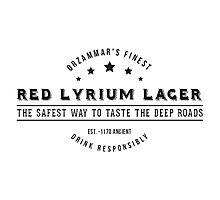 Dragon Age Red Lyrium Lager Photographic Print