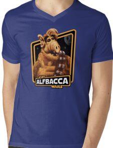 Alfbacca: Cat Wars Mens V-Neck T-Shirt
