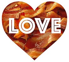 Bacon Love by Vintagee
