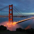 Golden Gate Bridgr by jswolfphoto