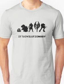 It's Evilutionary (with text) T-Shirt