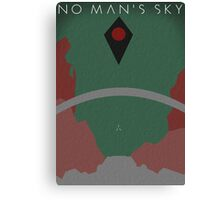 No Man's Sky Poster Canvas Print