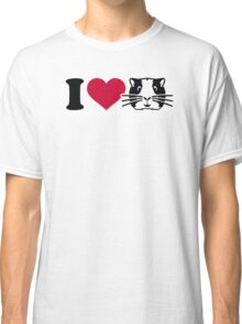 I love Hamster Guinea pig Classic T-Shirt